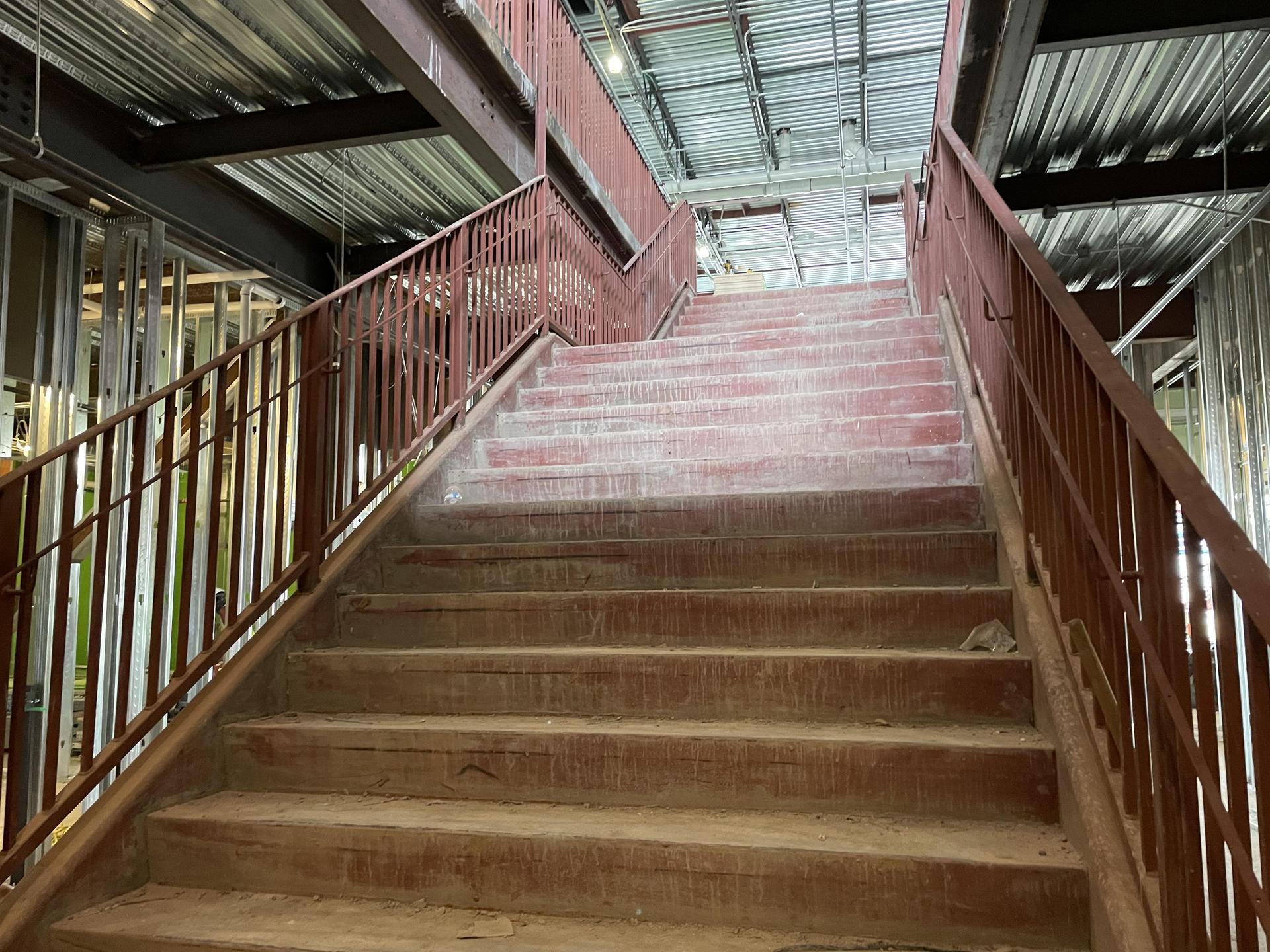 HPHS Natatorium infill construction