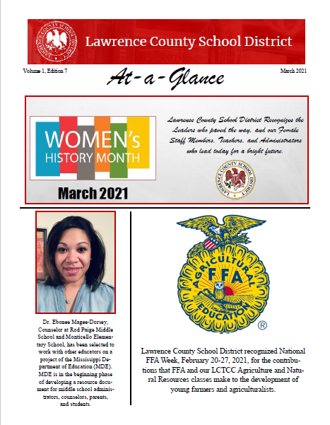 At-a-Glance March 2021 Page 1