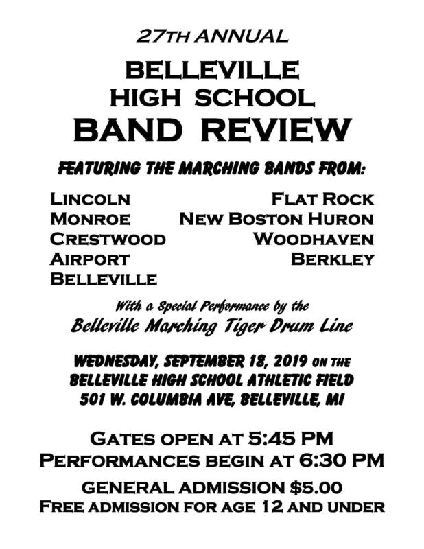 Belleview Band Review Flyer