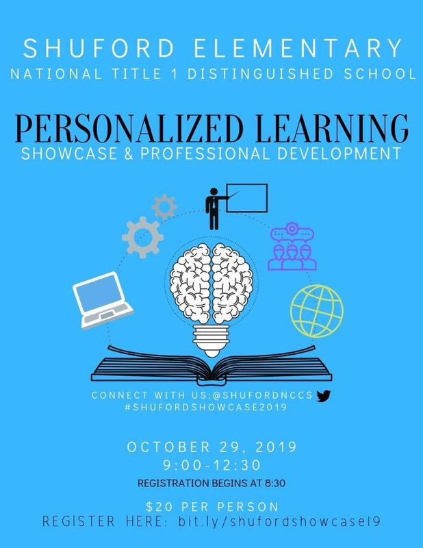 Invitation to the Personalized Learning Showcase