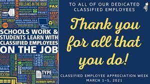 Staff Appreciation!