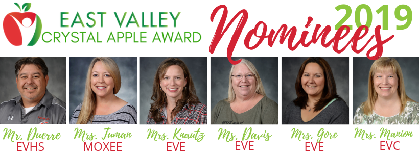 Our 2019 Crystal Apple Nominees