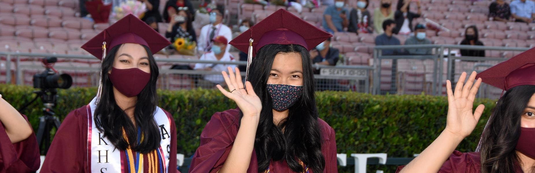 MKHS 2021 Graduates Wave