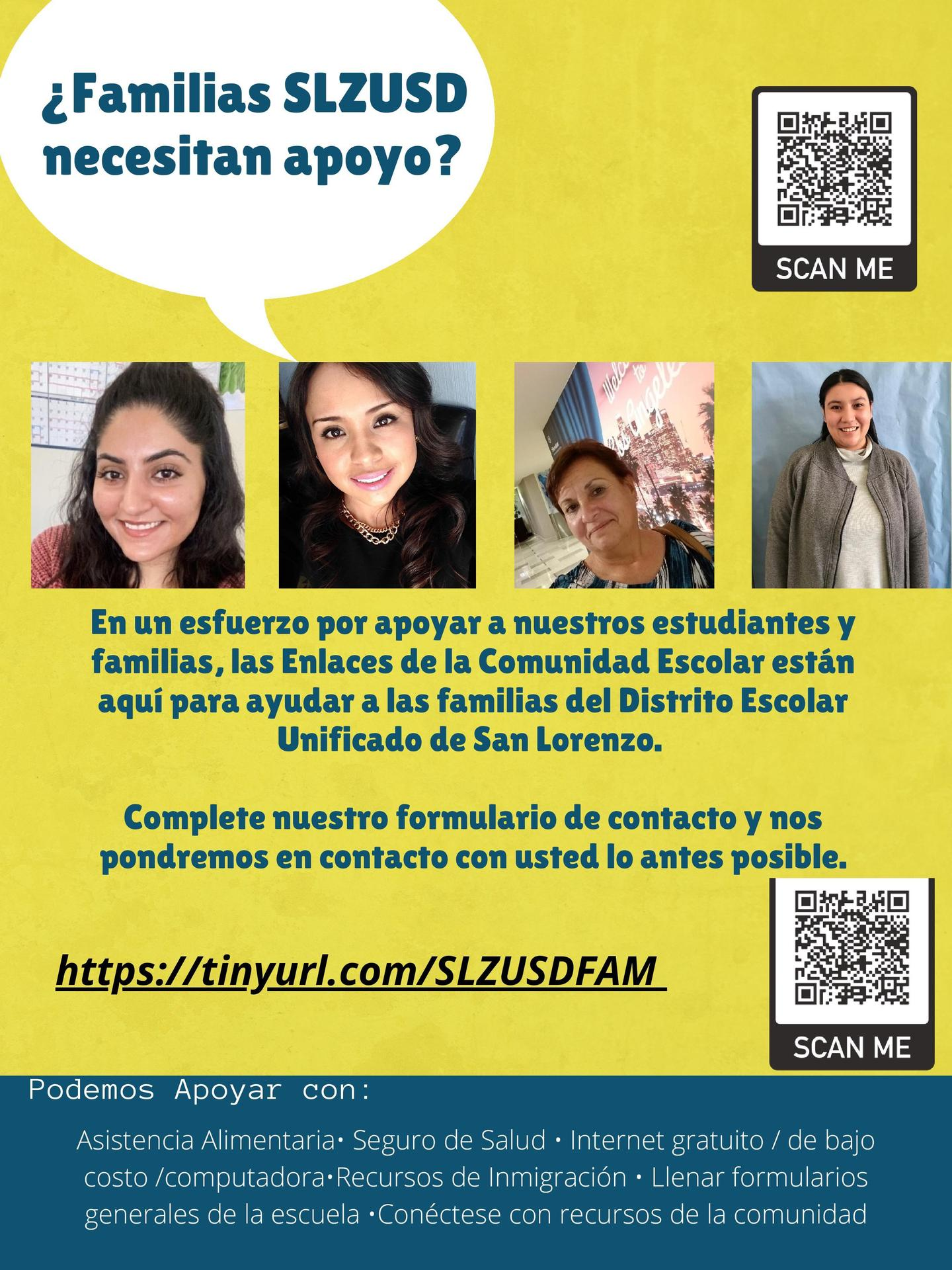 Contact Form Spanish