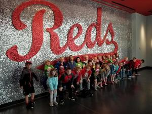 Marr/Cook second grade class visited Great American Ballpark!