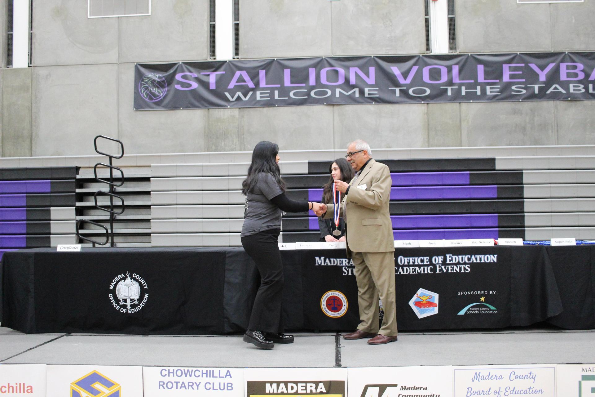 Yadira Ortiz Camacho Honor Silver Essay
