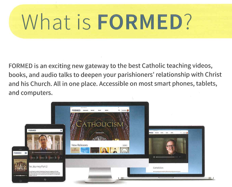 FORMED - Available To The LC Faith Community Featured Photo