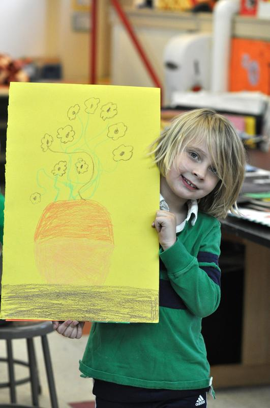 Grade 1 Art Show Prep Featured Photo