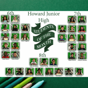 collage of 35 students