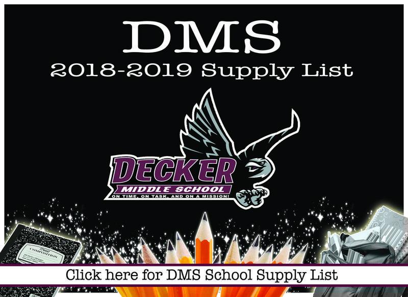 DMS School Supplies Thumbnail Image