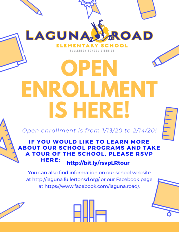 LR Open enrollment flyer with info