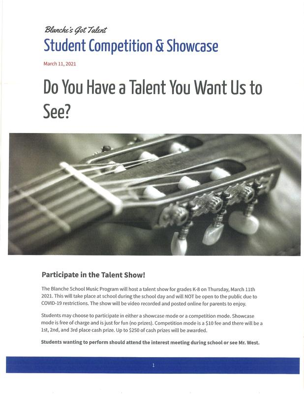 Talent Show Form Featured Photo
