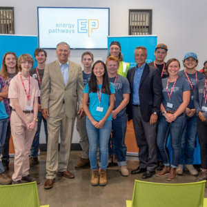 WV students with Governor Inslee