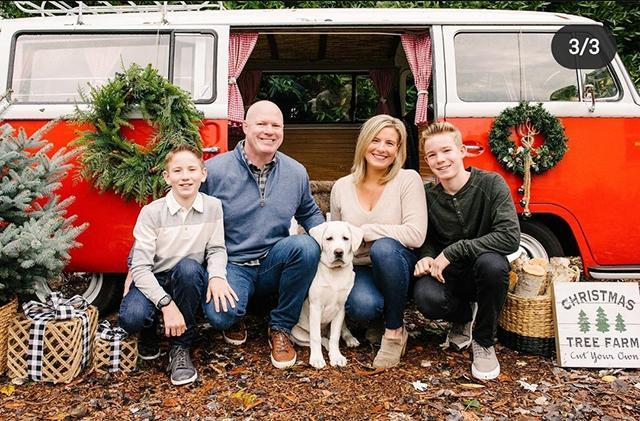 Matt and Heather (Zappone) Bliss `93 family