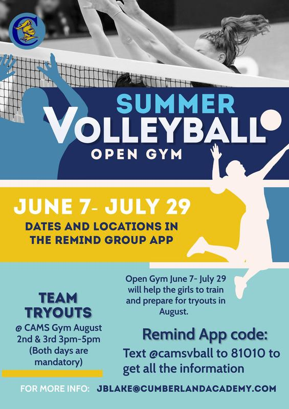 Summer Volleyball Open Gym Featured Photo