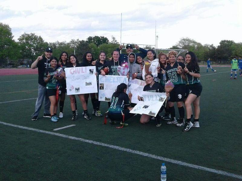 In the News . . . Maspeth High School's girls flag football team gets top seed in playoffs Featured Photo