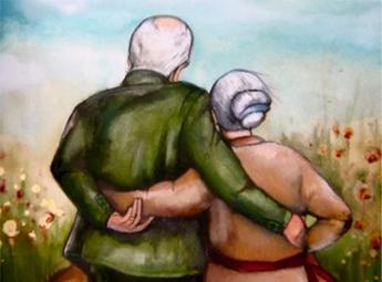 El amor incondicional de los abuelos… Image