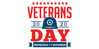 Veterans Day 2020 Featured Photo