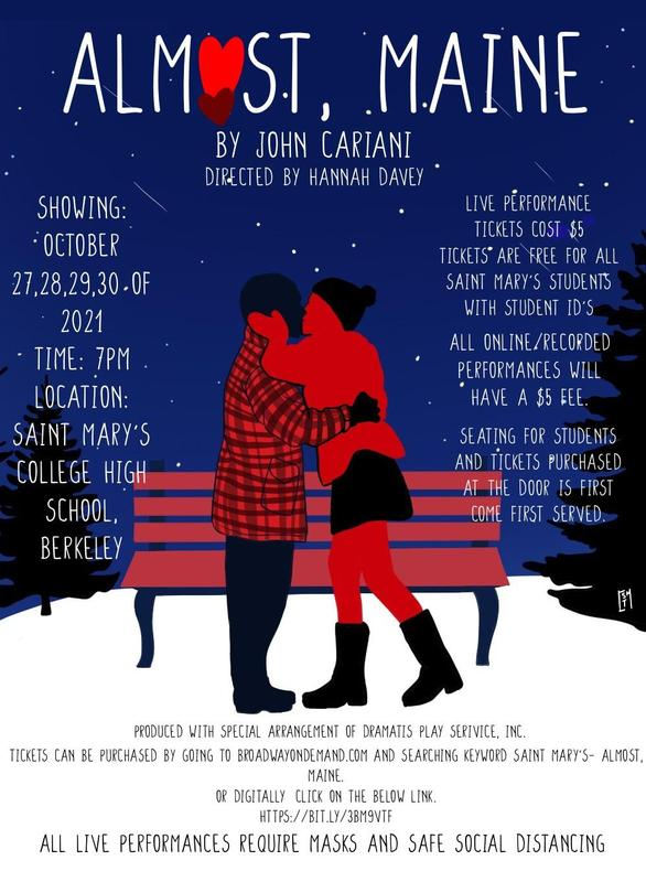 Almost Maine Fall Play Poster