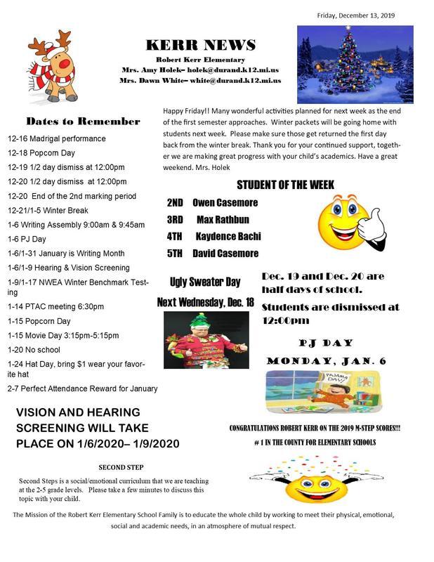 RK Newsletter 12-13-19 Featured Photo