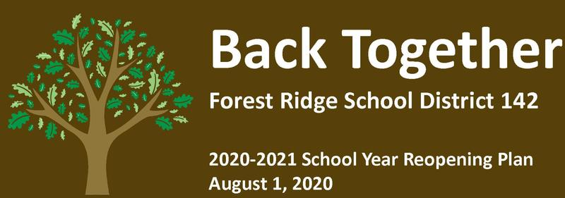 2020-2021 School Year Reopening Plan (August 4, 2020) Featured Photo
