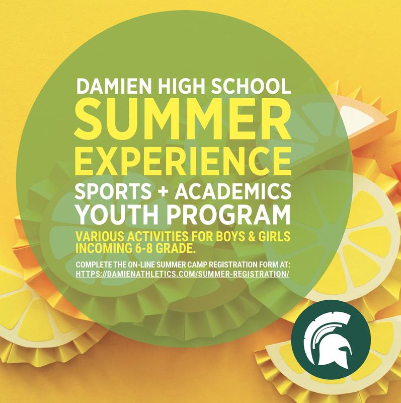 Damien Summer Experience Registration Now Open! Featured Photo