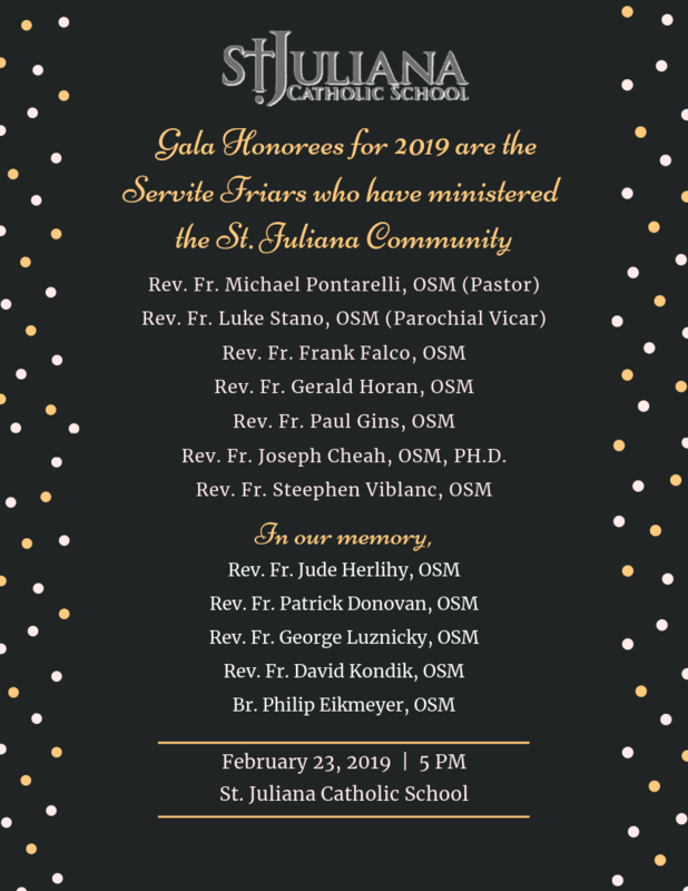 2019 Gala Honorees Featured Photo