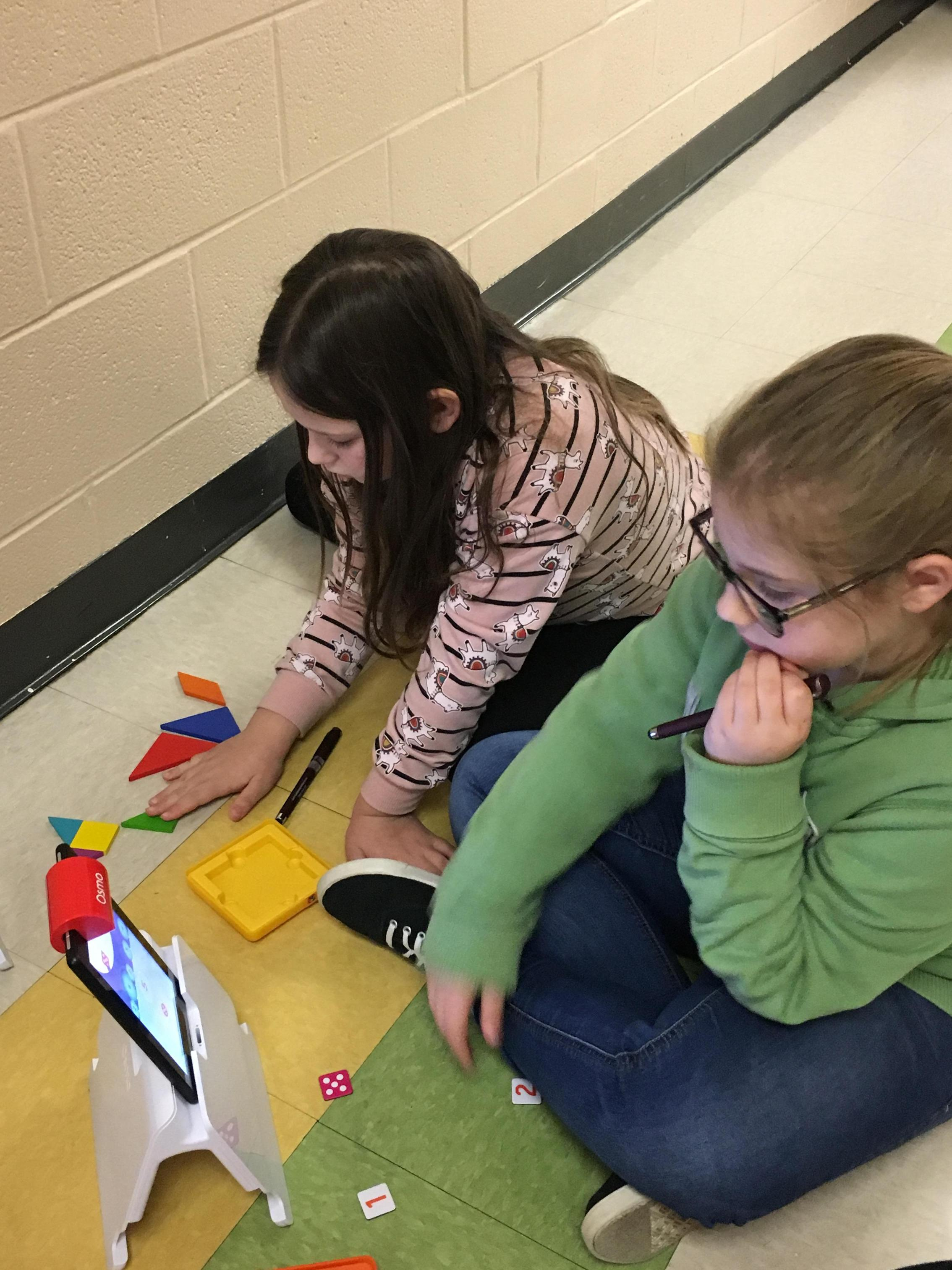 Third Grade with Osmo