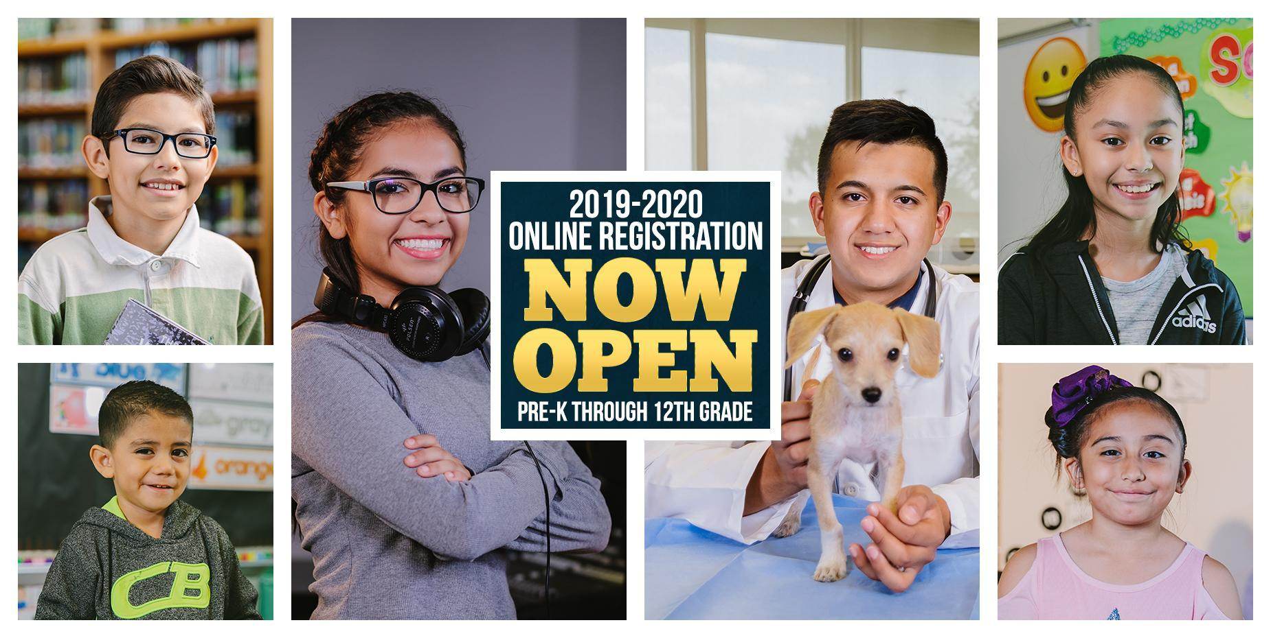 Online Registration Now Open for Pre-K through 12th