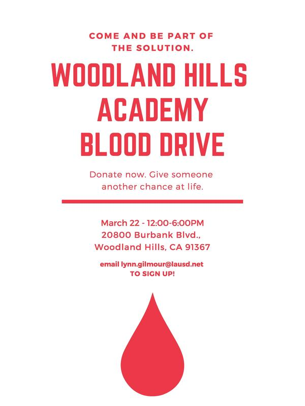 Save the Date: Blood Drive on March 22nd, 2019 Thumbnail Image