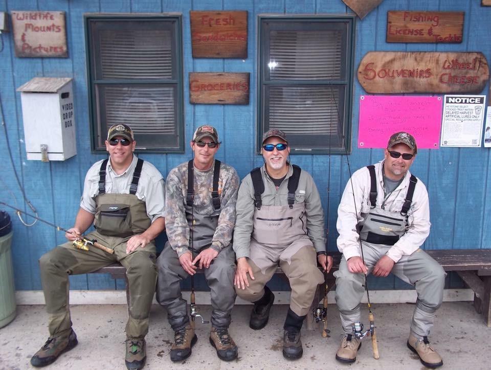 Craig, Brian, Jeff, Travis