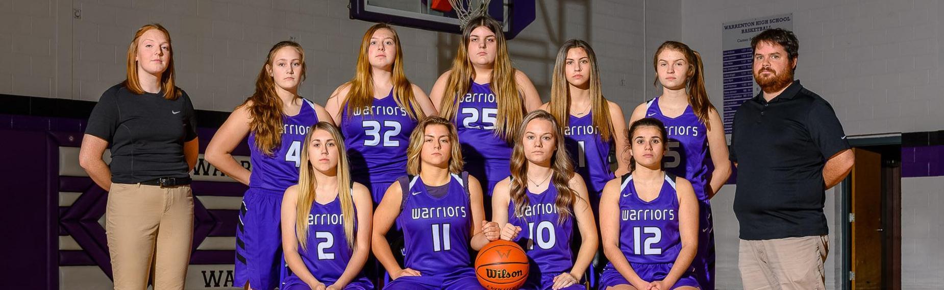 Girl's Basketball Team Photo