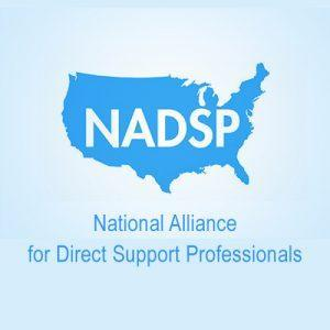 NADSP logo over United States silhouette