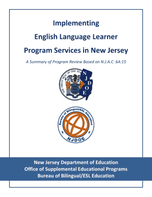 Implementing ELL program services photo & link