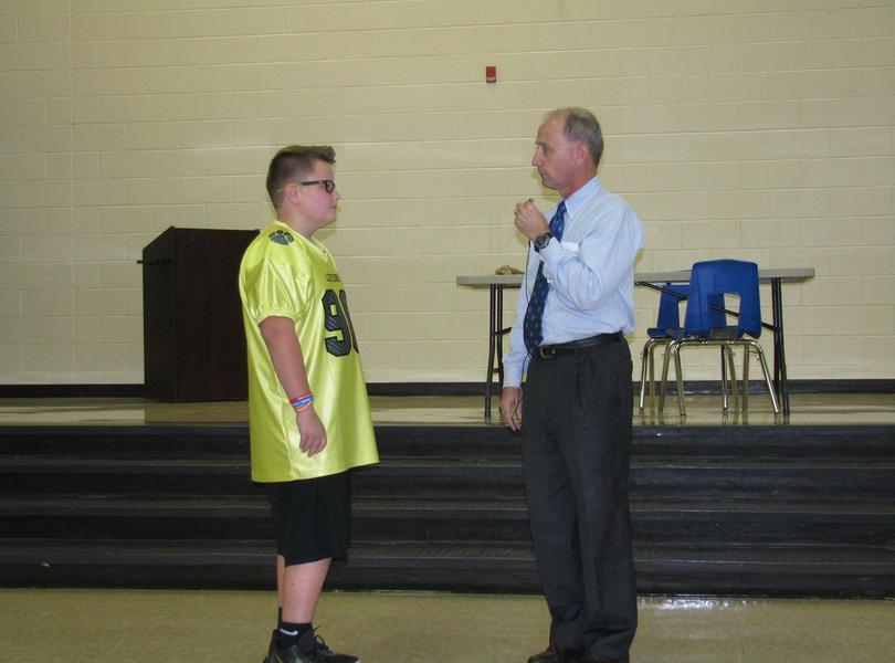 ROAR Assembly led by Mr. Reynolds