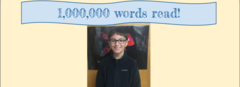 I've read 1,000,000 words!