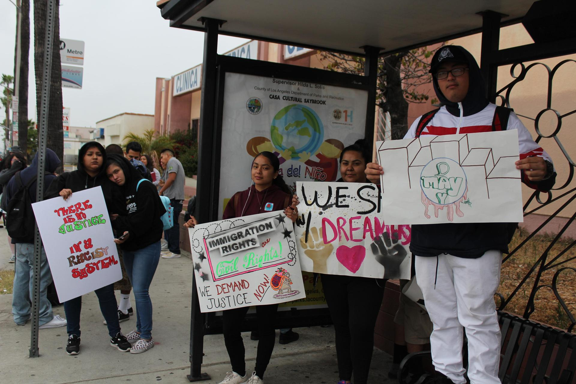 LA CAUSA students at May Day Protest