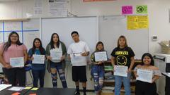 September student of the month 9-29-17