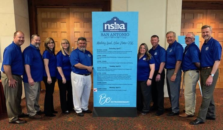 For the 4th consecutive year, White Settlement ISD school board members and administrators were selected to present at the National School Board Association Convention.