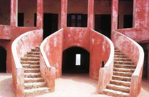 Maison Rose, Ile de Gorée, Dakar Senegal