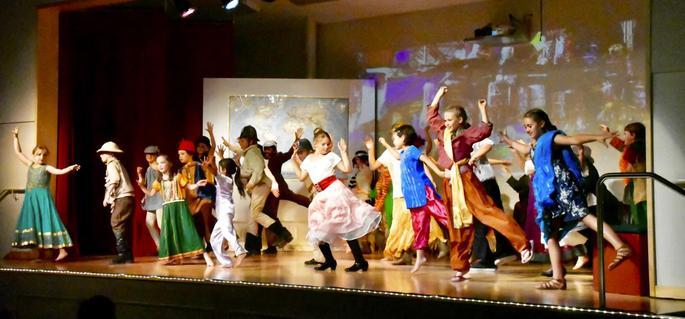 Dancing in the School Play