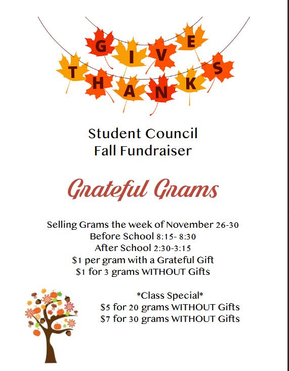 Grateful Grams Flyer