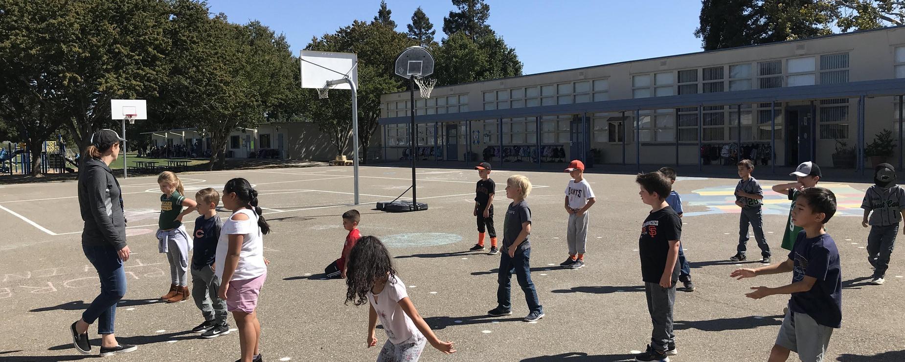 2nd grade PE