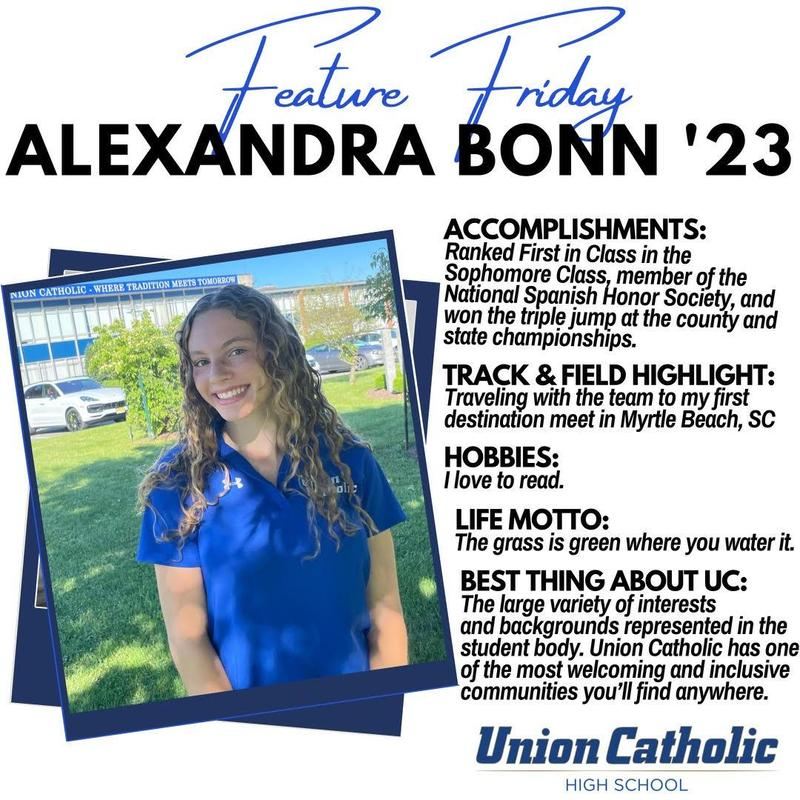 Union Catholic's Alexandra Bonn is soaring in and out of the classroom Thumbnail Image