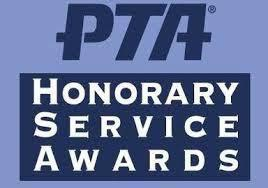 PTSA High School Service Awards Logo