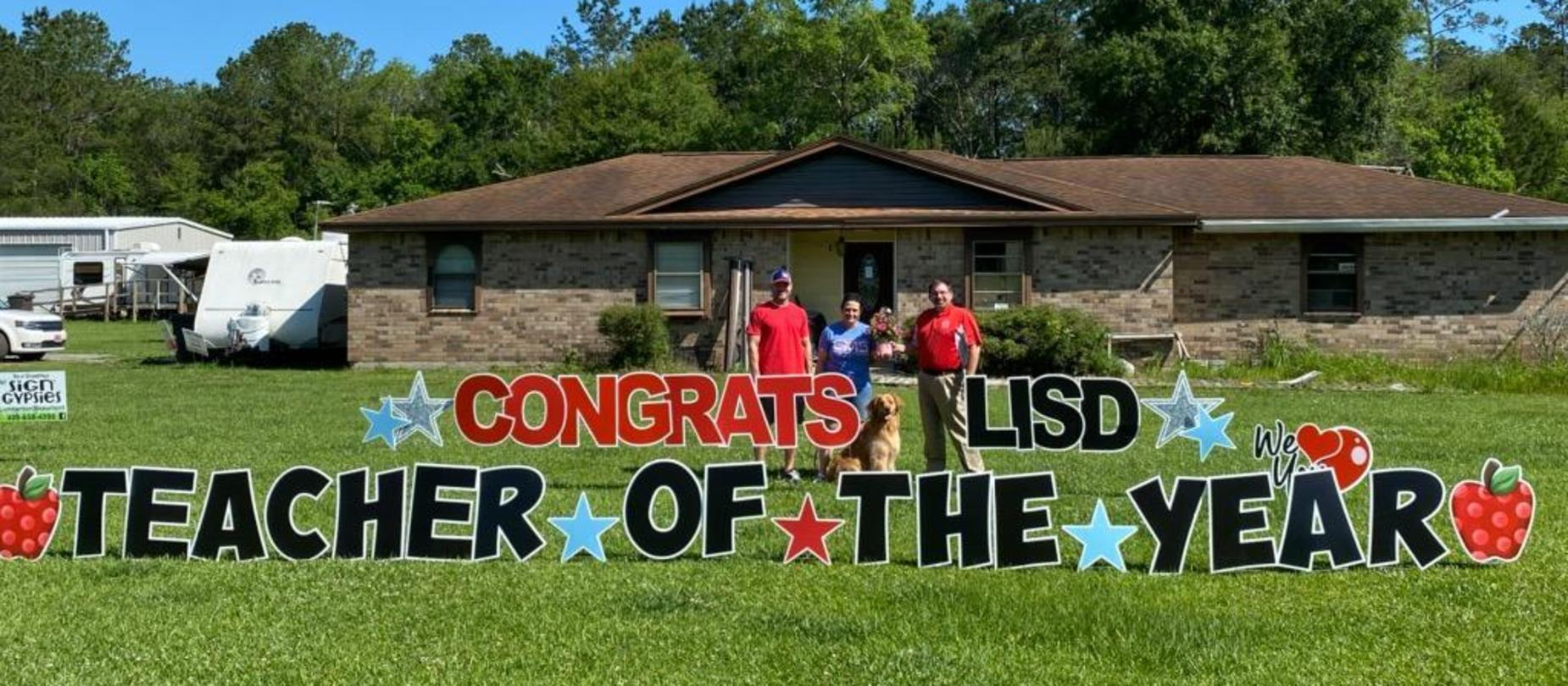 Teacher of the Year Lori Dyess