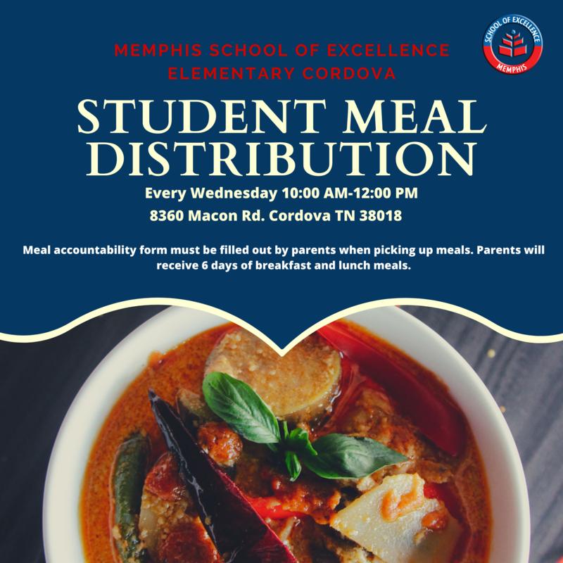 Meal Distribution Flyer