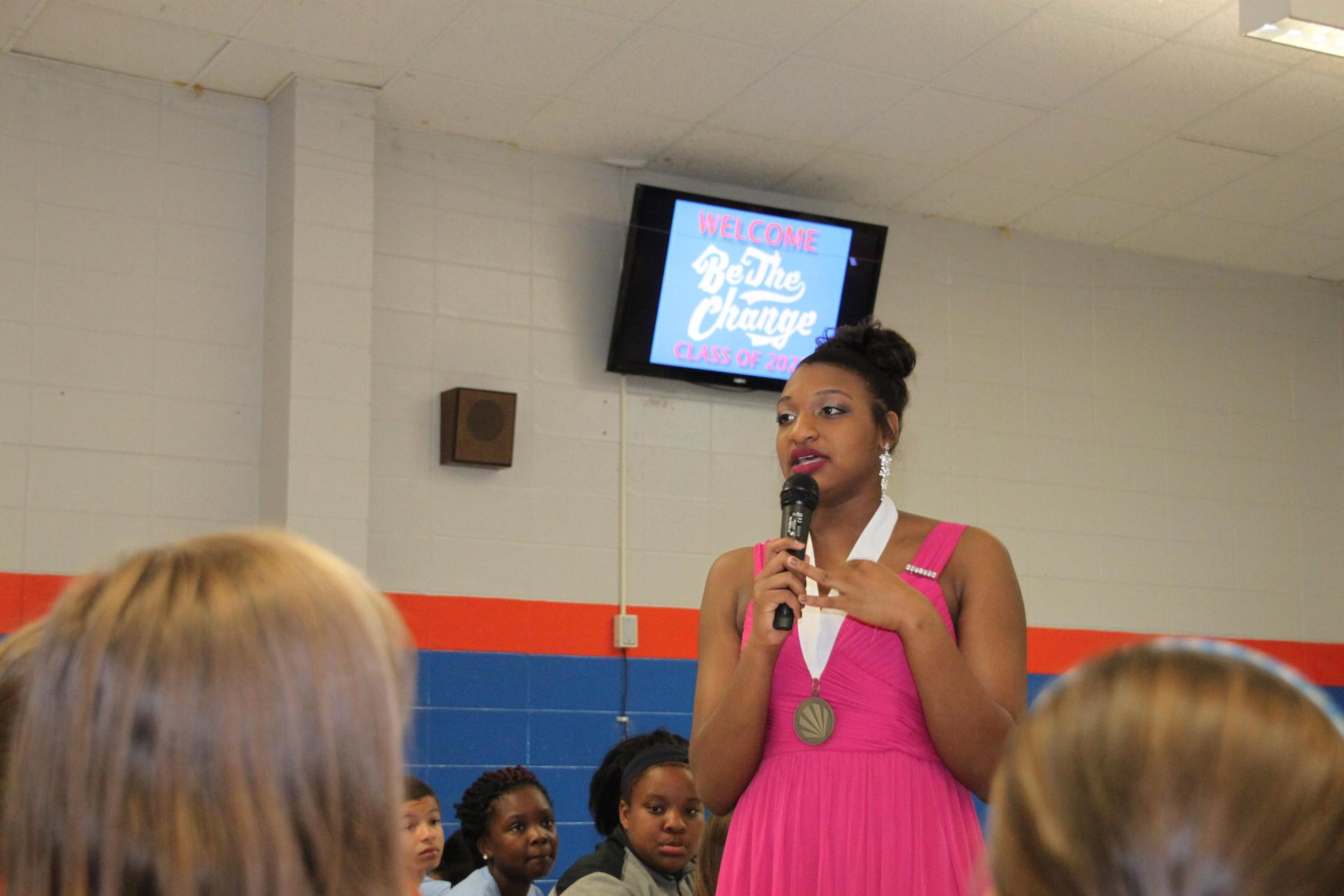 NC's DYW Speaks to 5th Grade Students