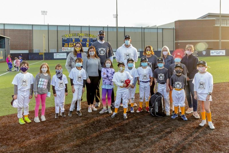 Hyer Heroes Playing Baseball Featured Photo