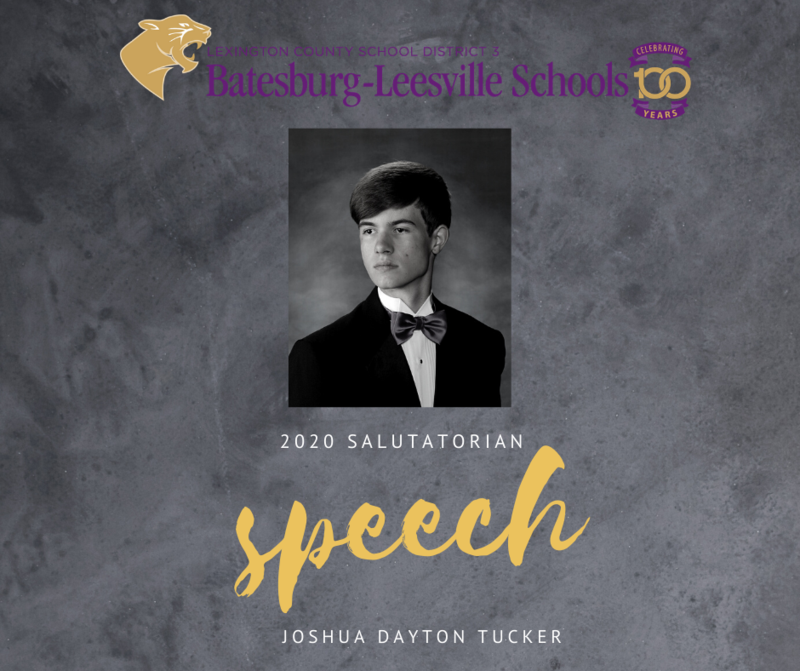 2020 Salutatorian Speech